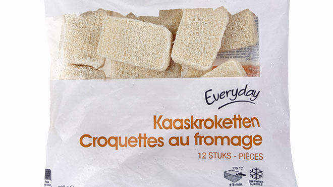 Colruyt rappelle ses croquettes au fromage Everyday
