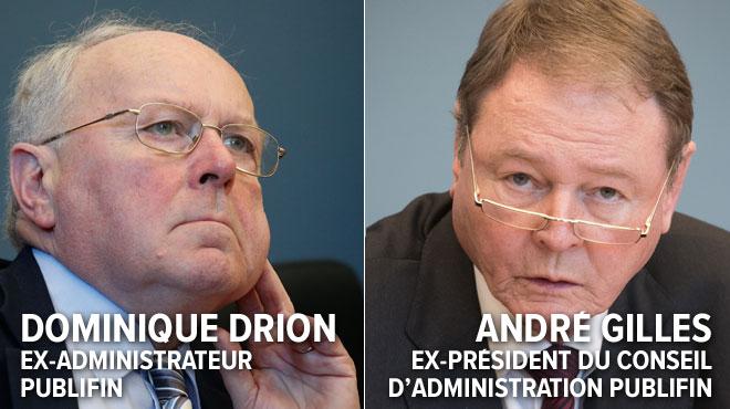 Liés au scandale Publifin, ils voulaient revenir aux affaires: voici la décision de Dominique Drion et André Gilles