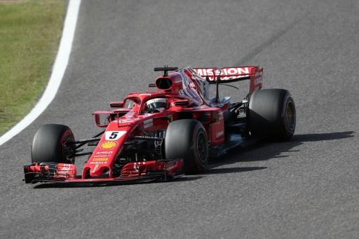 GP du Japon: Vettel percute Verstappen et repart en queue de peloton