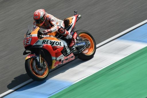 MotoGP: Marquez bat Dovizioso en Thaïlande et se rapproche du titre
