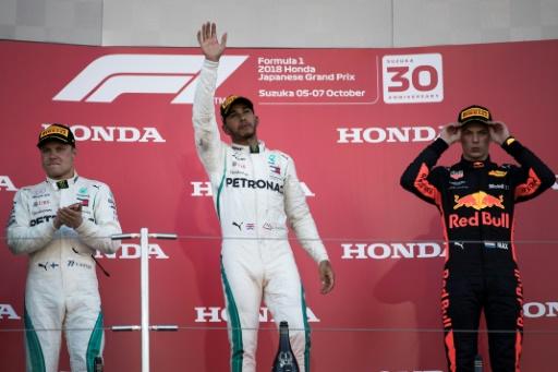 GP du Japon: Hamilton