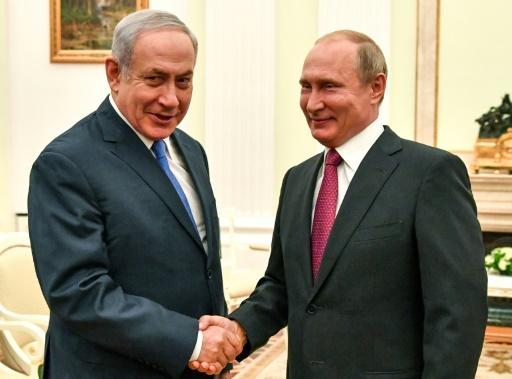 Avion russe abattu: Netanyahu annonce une prochaine rencontre avec Poutine