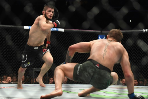 MMA: Nurmagomedov bat McGregor dans une ambiance chaotique