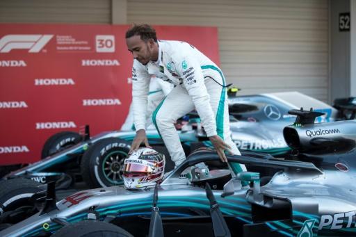 GP du Japon: Lewis Hamilton sacré au GP des Etats-Unis si...