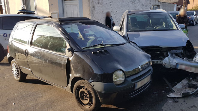 Une conductrice et son bébé blessés dans une collision à Montignies-sur-Sambre