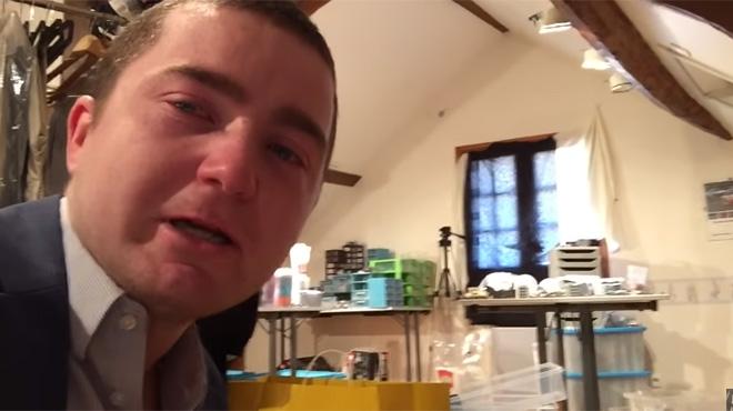 Un YouTubeur français se fait voler sa collection de Lego d'une valeur de 16.000€: ses fans décident de lui venir en aide (vidéo)