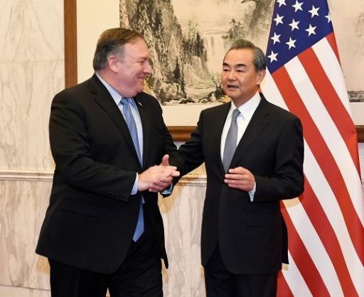 Echanges peu diplomatiques entre ministres chinois et américain