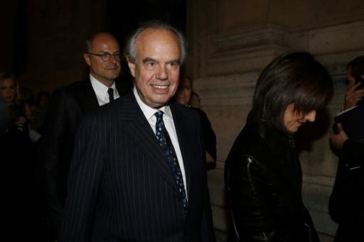 Frédéric Mitterrand pour la première fois sur scène pour des lectures