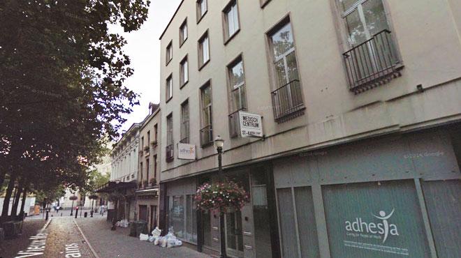 Une dizaine de personnes expulsées d'un bâtiment du centre de Bruxelles