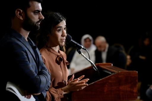 Irak: la Yazidie Nadia Murad veut que les jihadistes soient jugés pour leurs exactions