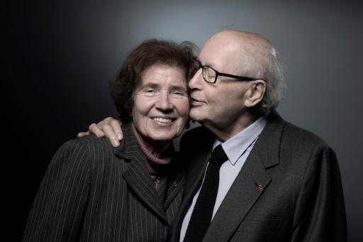 Serge et Beate Klarsfeld décorés à l'Élysée