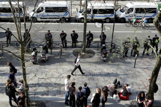 Paris: la faculté de Tolbiac bloquée pendant quelques heures