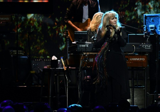 La chanteuse de Fleetwood Mac en lice, en solo, pour le Panthéon du rock