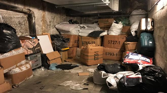 Des agents découvrent des milliers de pièces contrefaites galerie Agora: au vu du nombre COLOSSAL, un inventaire n'a pas encore pu être réalisé
