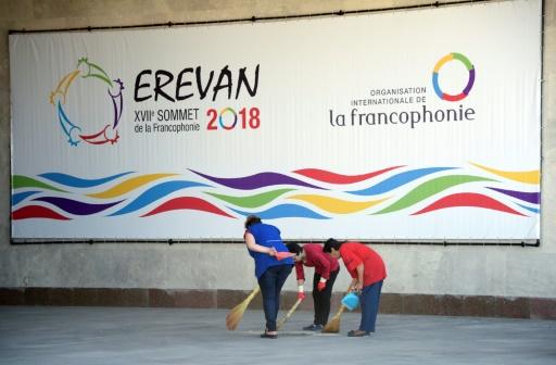 À Erevan, un sommet de la Francophonie attendu par toute la population