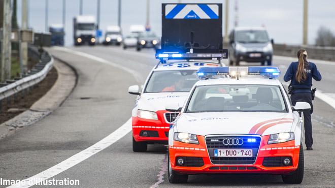 Accident sur la E411 juste avant le Ring de Bruxelles: BOUCHON jusqu'à Rixensart à midi