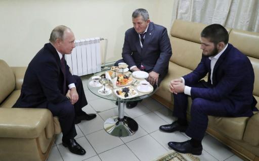 MMA: Poutine prévient Nurmagomedov qu'il y a