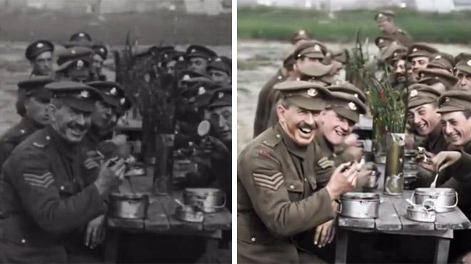 BLUFFANT: Peter Jackson livre un documentaire 3D et couleur à partir de vieilles images de la 1e guerre mondiale