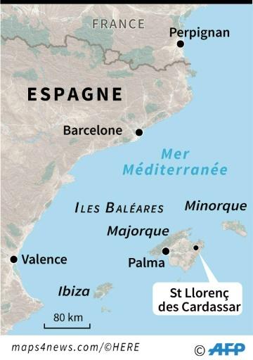 Inondations de Majorque: deux Allemands portés disparus