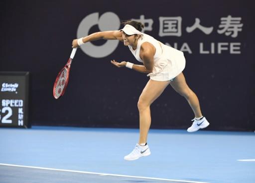 Caroline Garcia en quarts à Tianjin — Tennis