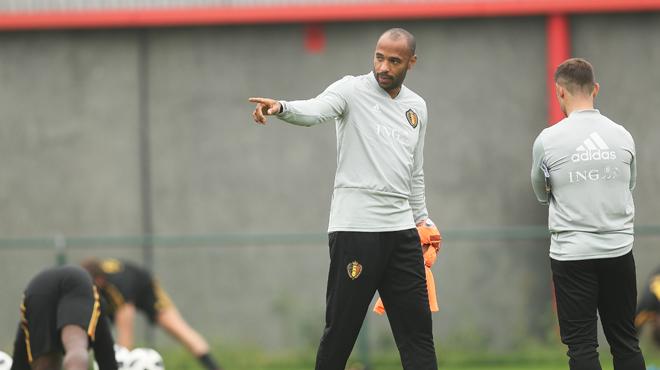 Belgique-Suisse, le dernier match de Thierry Henry avec les Diables Rouges ?