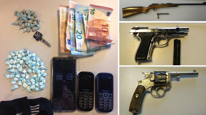 Arrêté avec 88 boulettes de stupéfiants à Charleroi, il se déclare mineur: un test prouve vite le contraire...