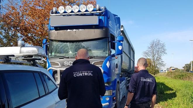 Un camionneur surpris avec un BROUILLEUR pour ne pas payer la taxe kilométrique