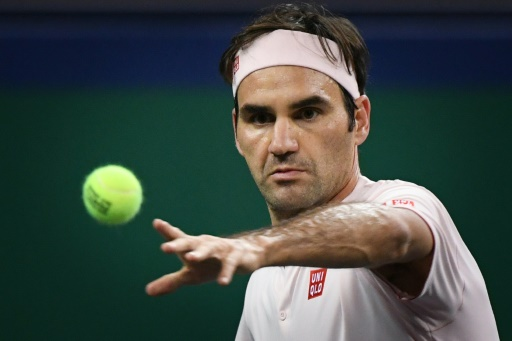 Tennis: Federer en quarts à Shanghaï