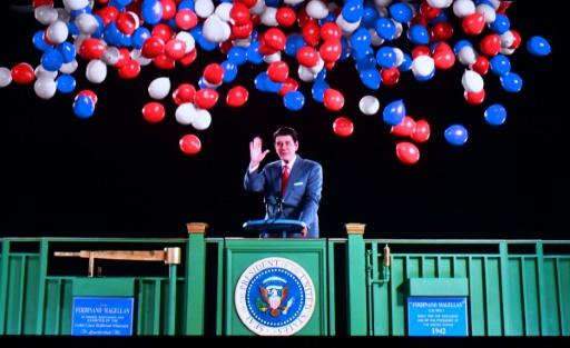 Un hologramme du président Reagan réveille de vieux souvenirs
