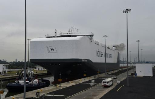 Canal de Panama: tonnage record malgré la guerre commerciale USA-Chine