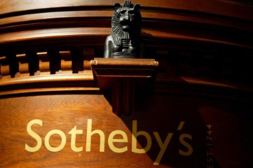Sotheby's confirme la vente de la toile auto-détruite de Banksy