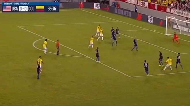Le but fantastique de James Rodriguez avec la Colombie (vidéo)