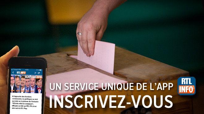 Recevez sur votre smartphone une alerte avec le résultat des élections dans VOTRE commune