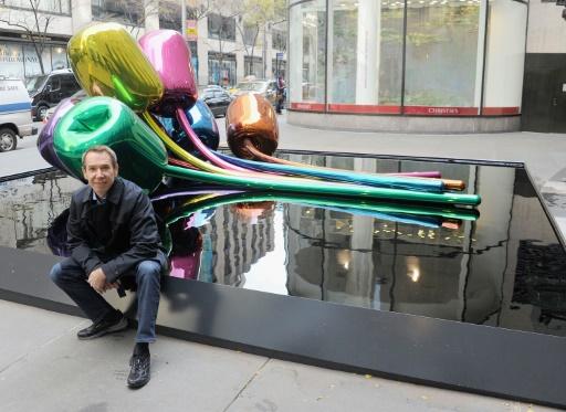 La sculpture polémique de Koons à Paris a trouvé un point de chute