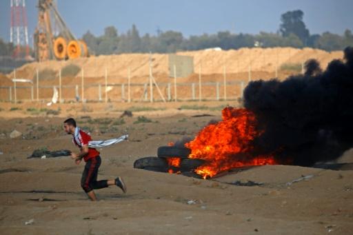 Six Palestiniens tués dans des violences le long de la frontière avec Israël