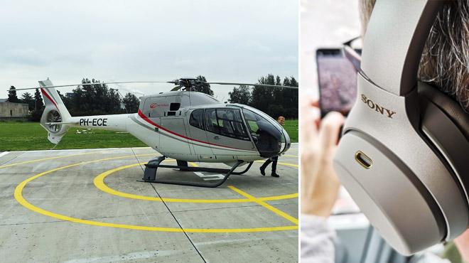 On a testé ce casque à réduction active de bruit dans un hélicoptère: à quel point isole-t-il vos oreilles ?