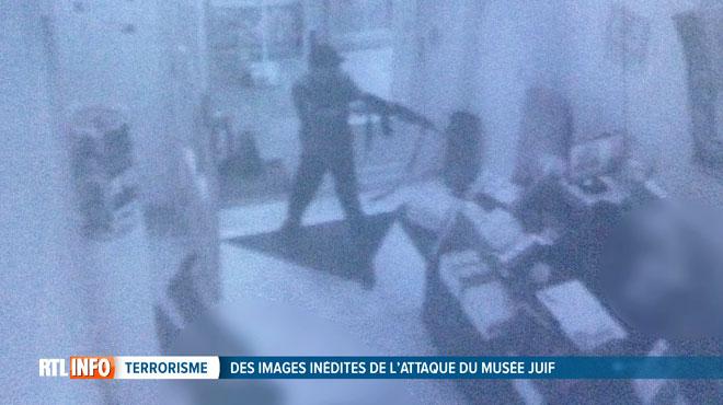 Des nouvelles images de l'attentat au musée juif de Bruxelles dévoilées: