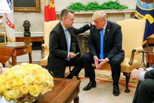 Trump reçoit le pasteur libéré et salue un
