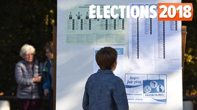 Elections 2018: découvrez les résultats dans chaque commune
