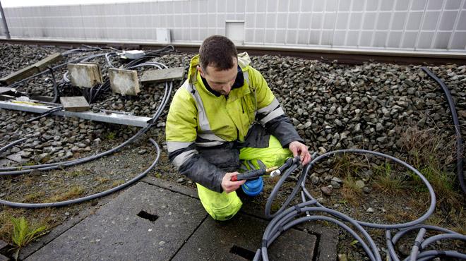 ENCORE un vol de câbles dans la région de Liège: