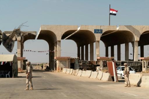 Réouverture lundi d'un poste-frontière clé entre la Jordanie et la Syrie