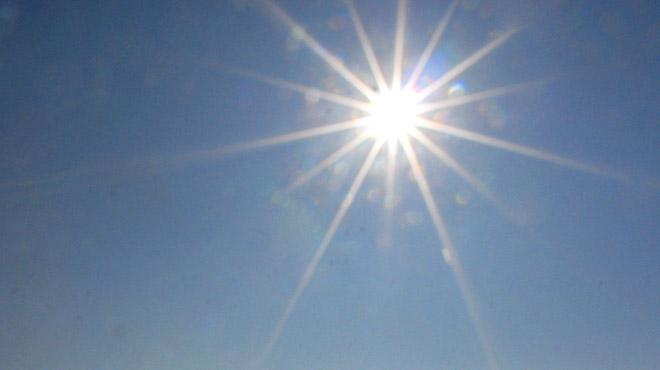 Un record historique de température battu ce dimanche 14 octobre, avec 24,4°C