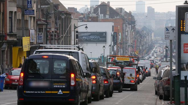 De mercredi à vendredi, de gros BOUCHONS sont à prévoir à Bruxelles