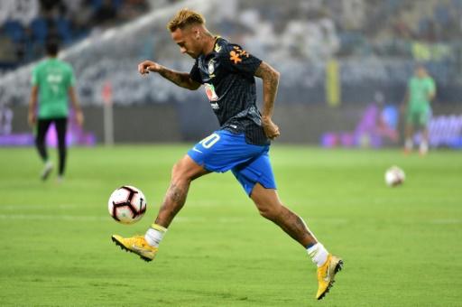 Argentine-Brésil: pour Neymar, malgré l'absence de Messi,