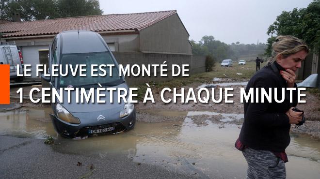 L'Aude meurtrie par les indondations avec 11 tués: