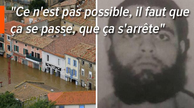 L'atroce destin d'une femme dans l'Aude: elle perd ses parents dans les inondations, son mari a été tué par un terroriste en mars