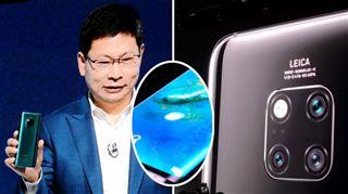 Huawei met à jour sa série pro- (artificiellement) plus intelligent, le Mate 20 Pro est équipé d'un capteur d'empreinte intégré à l'écran