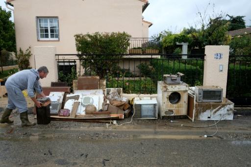 Aude: Castaner annonce des aides d'urgence pour les sinistrés les plus touchés