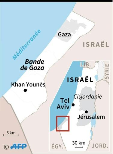 Tir de roquette en provenance de Gaza vers Israël (armée israélienne)