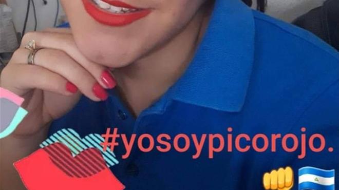 Le rouge à lèvres, nouveau symbole de résistance au Nicaragua: une Belge fait partie des opposants emprisonnés